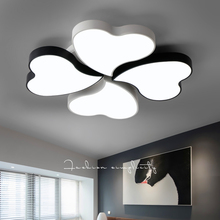 Modern LED creative ceiling lights Acrylic bedroom Ceiling lighting simple Novelty childrens room Fixtures Iron lamps