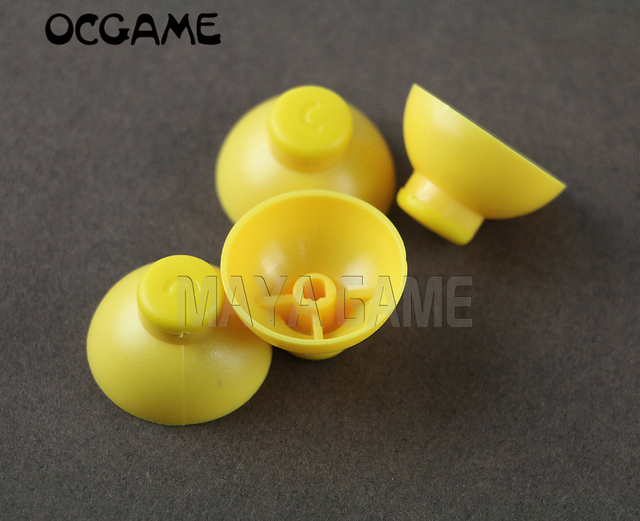 OCGAME 500PCS/LOT new Analog left and right joystick Stick Cap Replacement for NGC Gamecube controller (B)