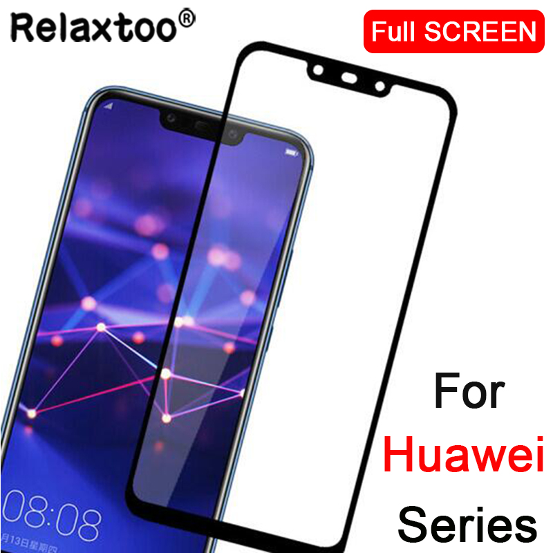 Protective Glass for huawei P20 Pro mate 20 lite P smart plus Screen Protector tempered glass on the for honor 10 honor10 film