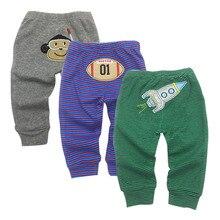 Baby Pants Newborn Babies Boys Infant Girls Pants Roupa Bebe 3 Pack 3 6 9 12 18 24 Months Trousers Kids Clothing все цены