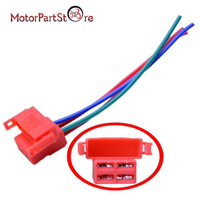 starter relay solenoid connector plug for honda cbr 600 900 929 954 1000  1100xx 1000f vtr