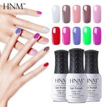HNM УФ гель лак для ногтей 8 мл Гель-лак для ногтей замачиваемый Гель-лак Vernis Полупостоянный гель лак лакировка 28 цветов