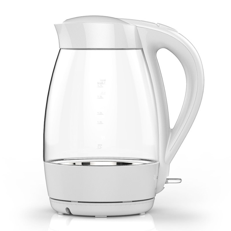 Glass electric kettle household 304 stainless steel automatic power outage large capacity cukyi household electric multi function cooker 220v stainless steel colorful stew cook steam machine 5 in 1