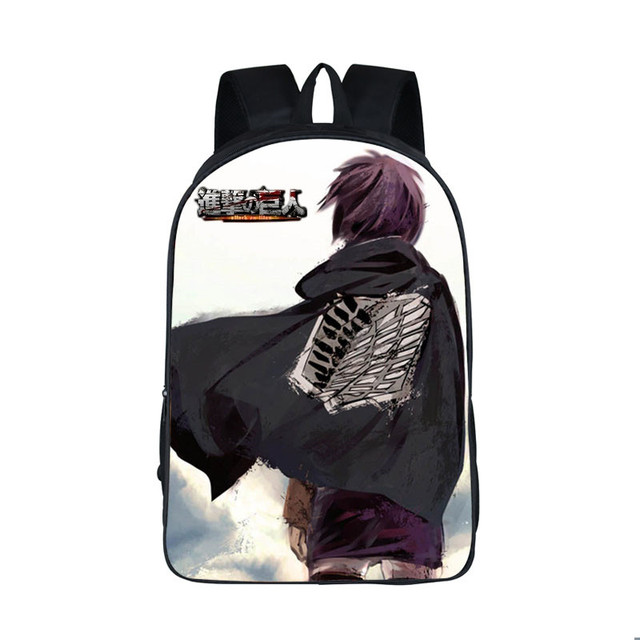 Attack on Titan Backpack School Bags