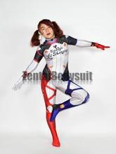 3D Print Harley Quinn Costumes Zentai Bodysuit Halloween Cosplay Costume Catsuit