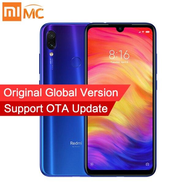"""Globale Versione Xiaomi Redmi Nota 7 4GB 64GB MIUI 10 Smartphone Snapdragon 660 Octa Core 6.3 """"FHD 48MP + 5MP Doppia Fotocamera 4000mAh CE"""