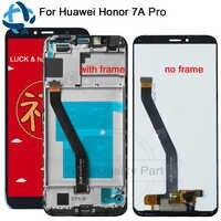 1440x720 IPS Für Huawei Ehre 7A Pro LCD Display Touchscreen Digitizer AUM-l29 AUM-L41 ATU-L11 Montage Für Ehre 7A Pro LCD