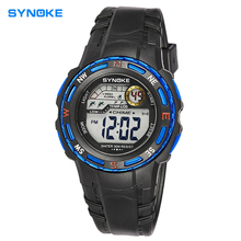 Niños relojes de star wars Niños chico reloj Electrónico Digital Reloj deportivo relojes Regalos de muje Impermeable 30 M estudiante relojes