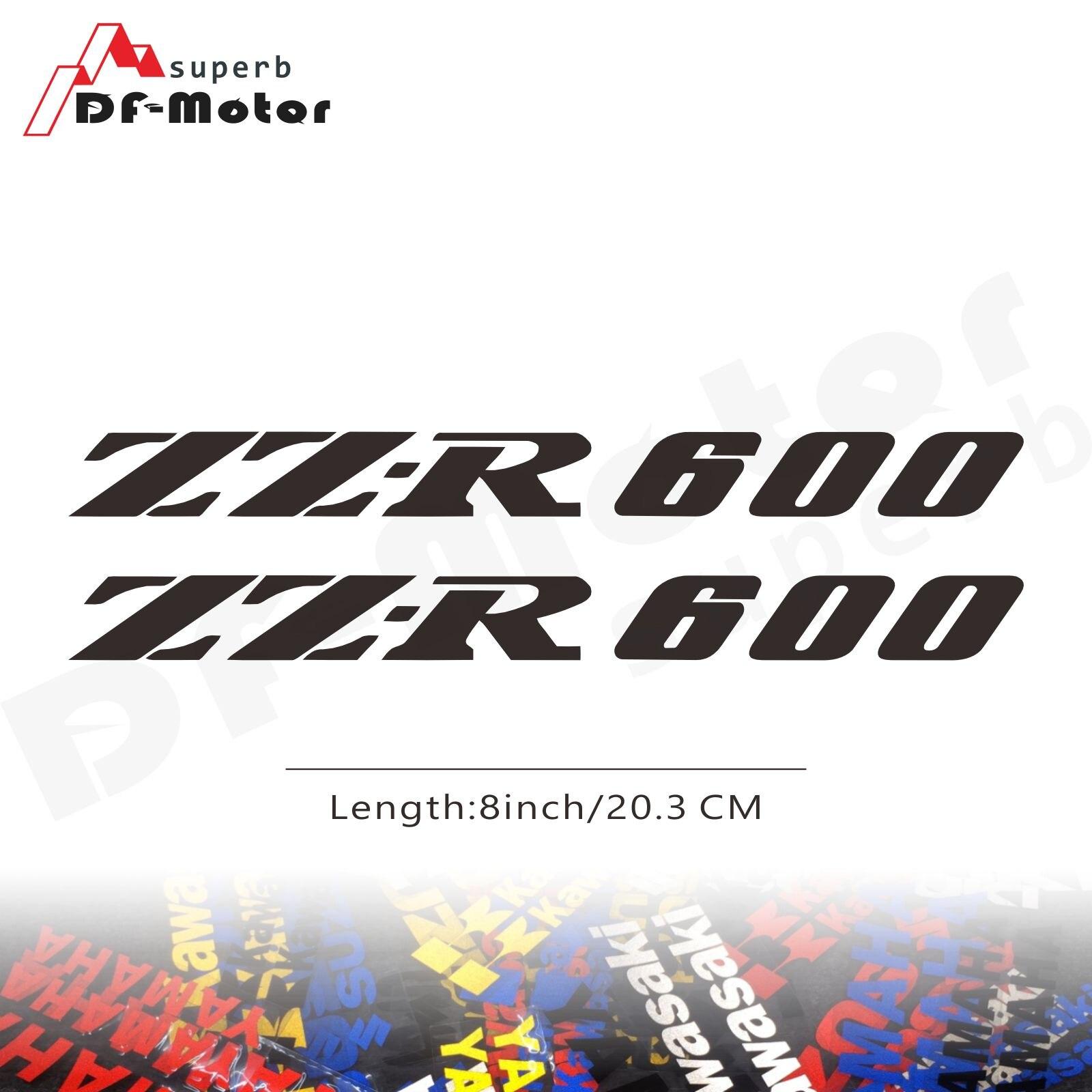 8Inch Reflective Sticker Decal Motorcycle Car Sticker Wheels Fairing Helmet Sticker Decal For Kawasaki NINJA ZZR600 ZZR 600