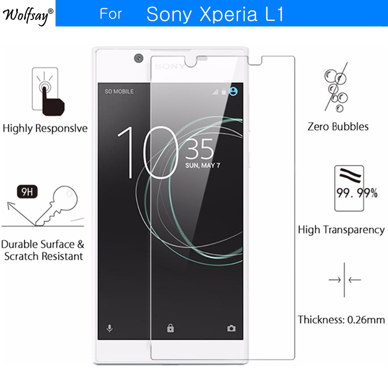 2pcs sFor Tempered Glass Sony Xperia L1 Screen Protector Protective Film For Sony Xperia L1 Glass G3311 G3312 G3313 5.5 Wolfsay2pcs sFor Tempered Glass Sony Xperia L1 Screen Protector Protective Film For Sony Xperia L1 Glass G3311 G3312 G3313 5.5 Wolfsay