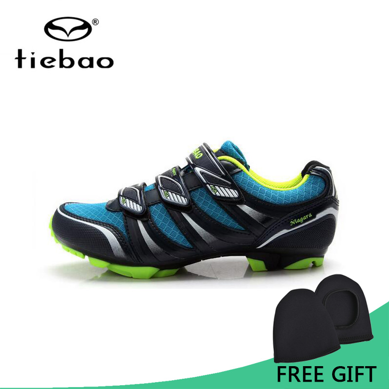 Tiebao Professional MTB Cycling Shoes Outdoor Athletic Racing Bike Shoes AutoLock/SelfLock Bicycle Shoes SPD Cleated Bike Shoes tiebao professional fg