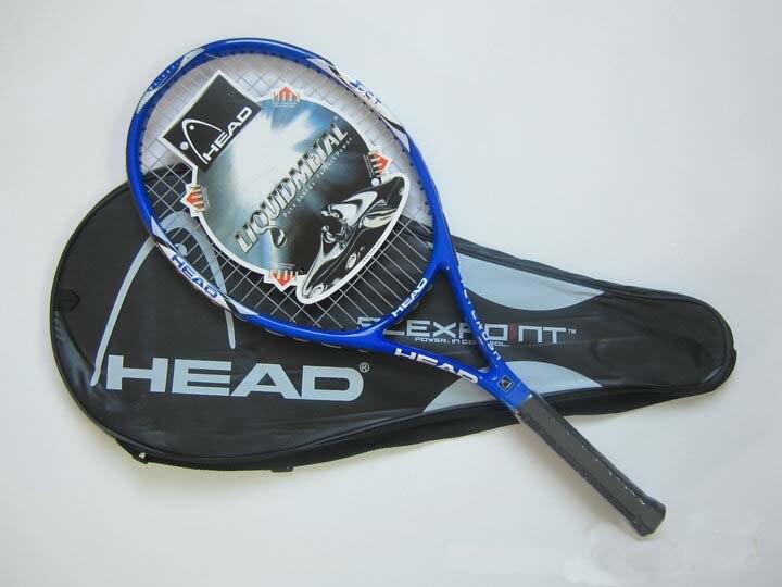 Freies Verschiffen Tennisschläger raquete de tennis Carbon Fiber Top Material tennis string raquetas de tenis