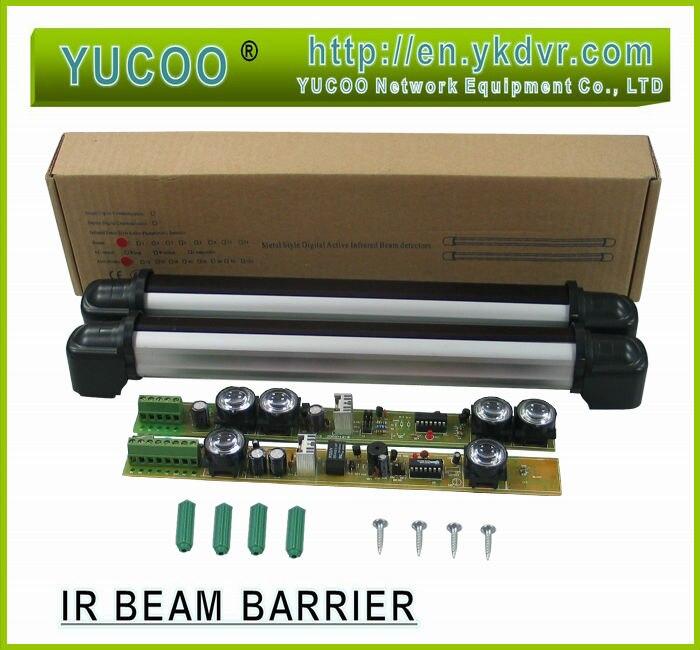 YK-QHS-210 2Beams outdoor 10m indoor 30m Active Infrared Beam Barrier