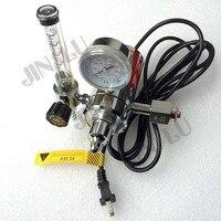 BS341 W22 CO2 Gas Regulator Gauge with Heater 36V Flow Meter Mig Welding Welder JINSLU
