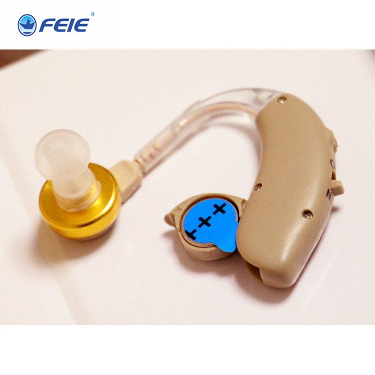 Feie 2017 Analog Bte Hearing Aid Voice Amplifier Deafness Headset Hearing Device for deaf S-137 free shipping devices for hearing mini digital hearing aid voice recorder minds aparelho auditivo 6 canais s 16a free shipping