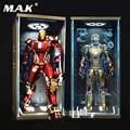 Игрушки-Box 1/6 Ganeku запечатаны пыле голограммы 4,0 Дисплей Box Fit MK43 MK1 MK2 MK46 Железный человек