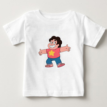 STEVEN UNIVERSE STAR kids t shirt 2018 summer casual tshirt 100% cotton tees shirt boy/girl T shirt summer tops t-shirt 3T-8T  N купить недорого в Москве