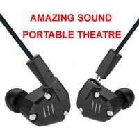KZ ZS6 Best Quality Sport Earphone Metal HiFi Headphone 8 Drivers Dynamic Armature Hybrid Amazing Sound Portable Theatre Cinema
