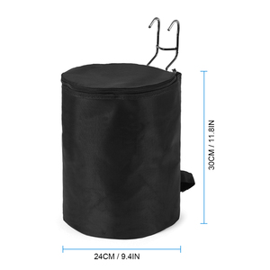 Image 4 - Scooter Accessory Foldable Front Hanging Storage Bag Front Scooter Accessory Basket for Xiaomi M365 Electric Scooter Accessory