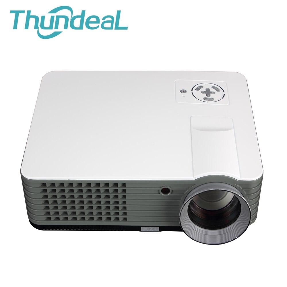 RD801 LED Projector Full HD 2000 Lumens Optional TV DVB Port Video Games Home Beamer Projektor Cinema Theater Video Projectors