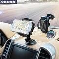 Cobao 360 grados sostenedor universal del coche para el teléfono fuerte montaje del parabrisas de succión soporte para teléfono móvil soporte para teléfono inteligente iphone