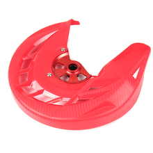 Motorcycle Front Brake Disc Cover Guard For HONDA CR125 CR250 2004-07 CRF 250R 450R 250X 450X 2004-2016 Motocross Off Road цена и фото