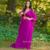 Ouro Appliqued vestido de noite Muçulmano Arábia Árabe Dubai kaftan Vestidos de Noite 2017 Nova Chiffon longo Vestido Formal Elegante CGE120