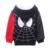 2016 novo bebê menino roupas de inverno meninos hoodies & camisolas infantis meninos spiderman clothing caricatura ocasional 100% algodão clothing