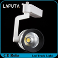 4pcs 35W LED Track Light COB Rail Light Spotlight AC85-265V Track Lamp Rail Lamp Bulb for Store/Show Room/Boutiques