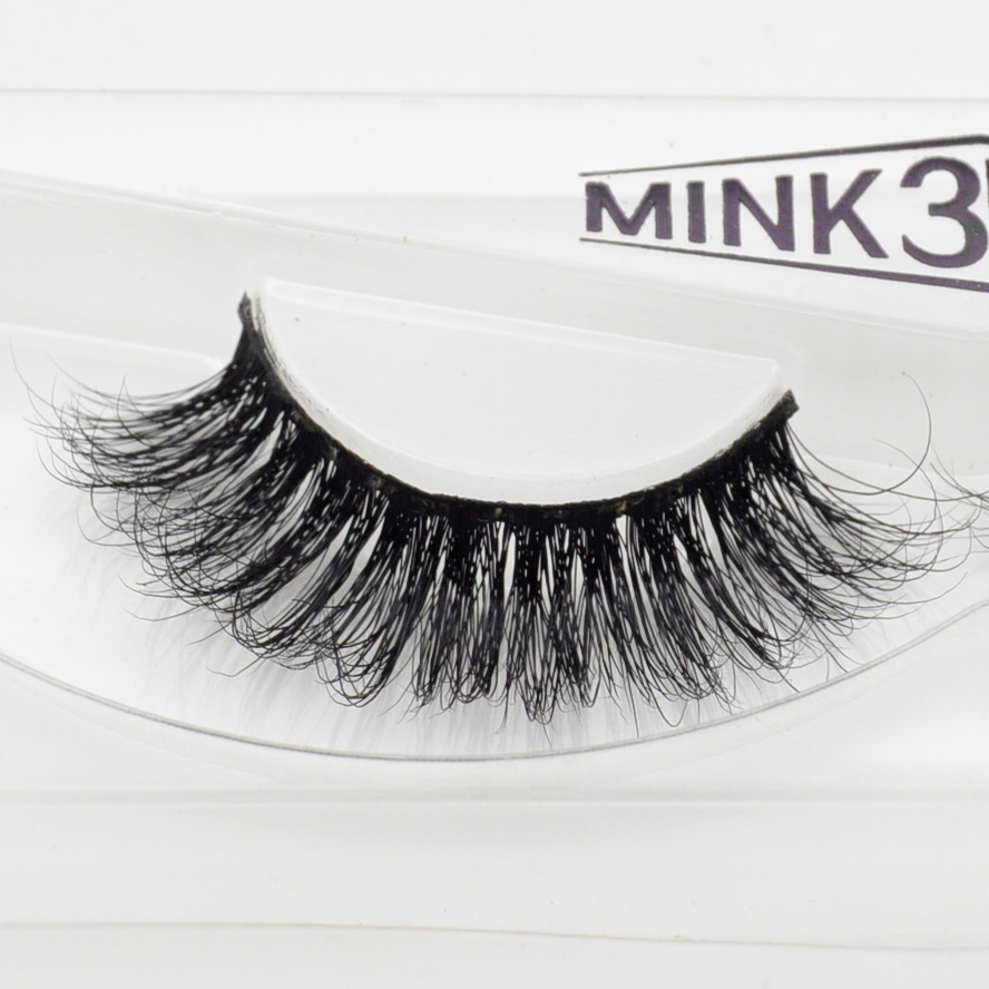 d1ab539fddd Visofree 3D Mink Eyelashes Upper Lashes 100% Real Mink Strip Eyelashes  Handmade Crossing Mink Eye Lashes Extension A11