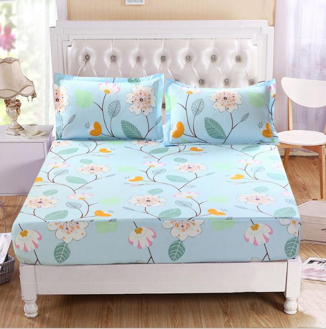 Flowers 1pcs Mattress Cover /Mattress Protector Cover For ...