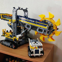 3929PCS Technic Bucket Wheel Excavator Model Building Blocks Bricks Construction Toys For Children Compatible With 90015