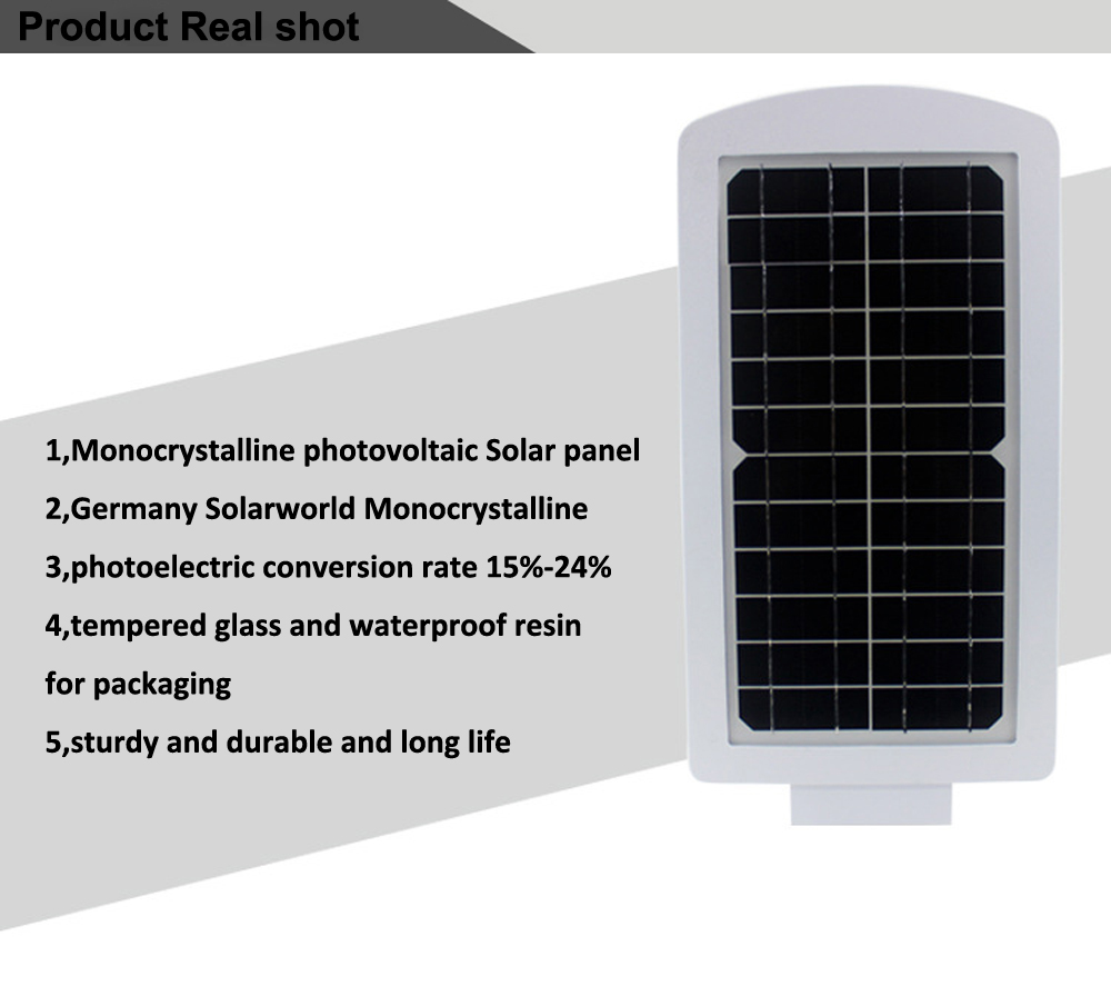GO OCEAN Solar Lamps LED Solar Waterproof Wall Integrated LED Street Light Solar Lamp Motion Sensor Outdoor Garden Light (6)