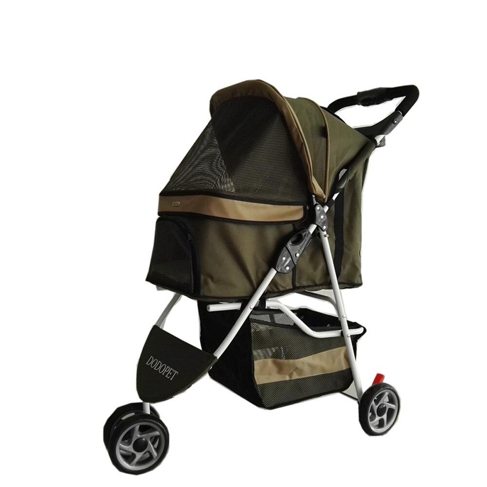 2016 Новый дизайн животное коляска кошка/собака легкая прогулка складной путешествия перевозки перевозчик 3 in1 щенков коляски для небольших с