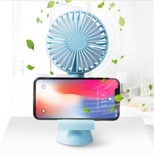 Mini Handheld Fan with Aromatherapy Phone Holder USB Rechargeable Cooling Fans Portable Personal Desk Fans for Outdoor Travel цена и фото