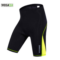 WOSAWE Women Cycling Shorts Breathable Anti Sweat Bicycle Shorts Mountain Bike Cycling Shorts Outdoor Sport Pants