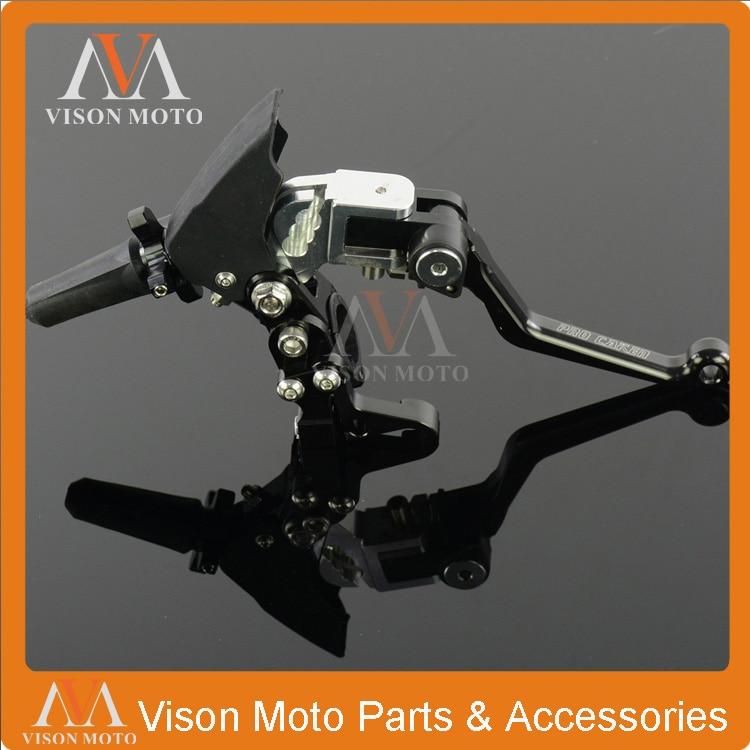 Billet 3 Direction Folding Clutch Lever Perch For Honda Yamaha Suzuki Kawasaki Gas Gas Husqvarna Husaberg TM Beta Dirt Bike meziere wp101b sbc billet elec w p