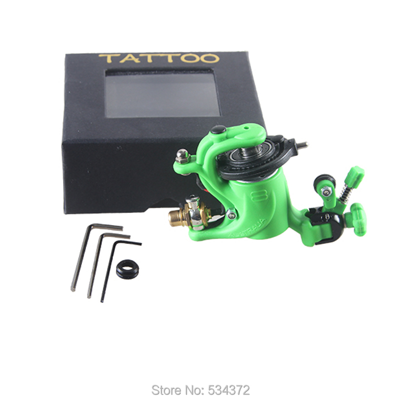 ФОТО 2015 Professional Strong Power Quiet Voice Shader And Liner Rotary Tattoo Machine