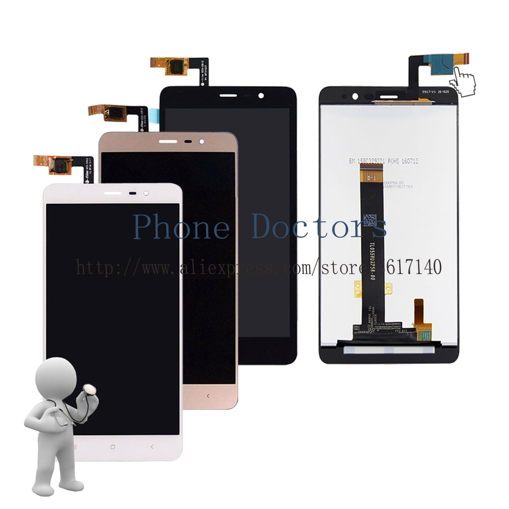 5.5'' New Touch Screen Digitizer Glass + LCD Display Assembly For Xiaomi Redmi Note 3 Pro SE Global Version 152 mm