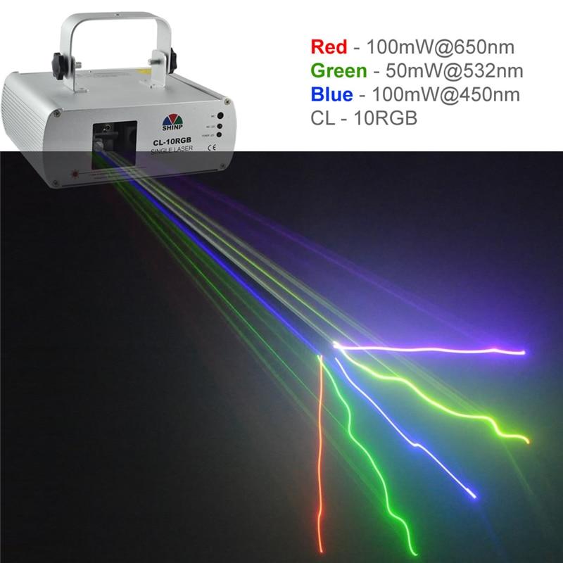SHINP RGB Full Color DMX 512 Laser Master-Slave 7CH DPSS Projector Lights PRO DJ KTV Disco Stage Lighting Scanner CL10RGB rg mini 3 lens 24 patterns led laser projector stage lighting effect 3w blue for dj disco party club laser