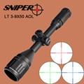 SNIPER 3 9X50 AOL Jagd Zielfernrohr Taktische Optische Anblick Full Size Mil Dot Ausrüstung RGB Draht Absehen für Zielfernrohr-in Zielfernrohre aus Sport und Unterhaltung bei