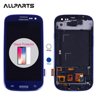 Tested 4 8 1280x720 LCD For Samsung Galaxy S3 LCD Screen Touch Digitizer For Samsung Galaxy