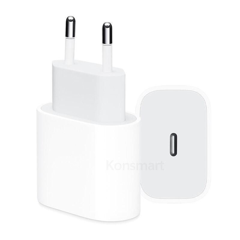 Original 18 W PD Schnelle Ladegerät für Apple iPhone 8 Plus XR XS Max Echtem USB Typ-C Schnelle ladung Power Lieferung Adapter