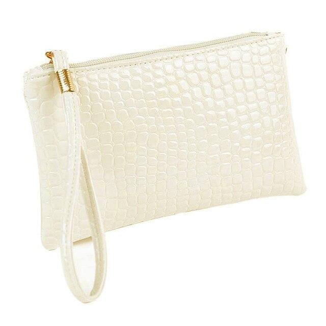 Women Wallet Purse Handbag Womens Crocodile PU Leather Clutch Handbag Bag Coin Purse Crocodile purse Clutch Purse Bag Women Bag 4