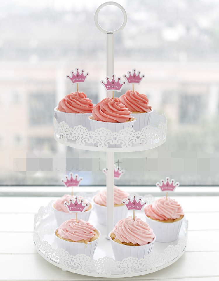 2 Tiers White Lace Iron Cake Stand Cupcake Holder Wedding Decoration Display Rack Dessert Fruit Plate-in Stands from Home \u0026 Garden on Aliexpress.com ... & 2 Tiers White Lace Iron Cake Stand Cupcake Holder Wedding Decoration ...