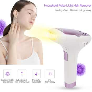 IPL Pulse Light Hair Remover Electric Lady Permanent Flash Epilator No Pain Professional Women Armpit Leg Bikini Hair Removal 31 - DISCOUNT ITEM  31% OFF All Category
