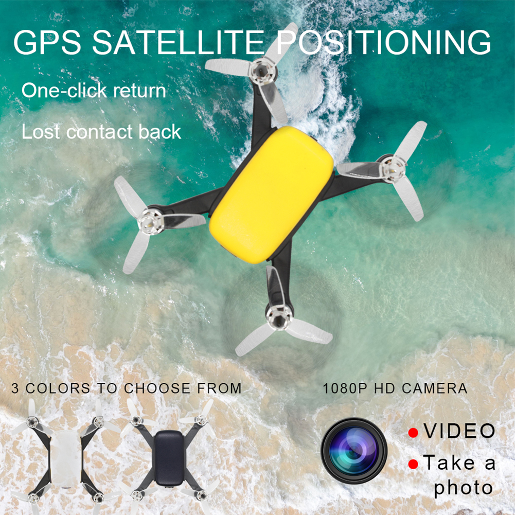 913 GPS 5G WiFi FPV with 1080P HD Camera Altitude Hold Mode Brushless RC Drone Quadcopter RTF Brushless Remote Control Drone