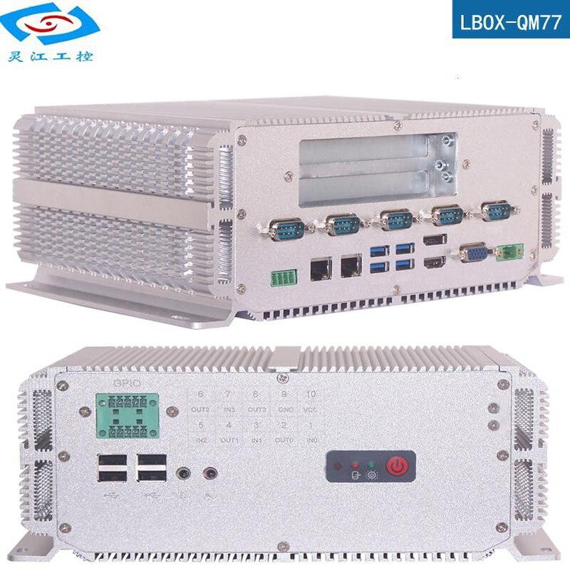 High Performance Industrial Computer Intel Core Processor I7 3610QM 2.3GHz 8USB Ports 6xCOM PCI Slot Industrial Embedded Mini Pc