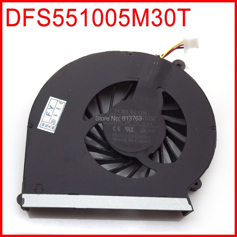 DFS551005M30T FADL 646181-001 646183-001 Cooler Fan For HP Compaq CQ43 G43 CQ57 G57 430 431 435 436 630 635 CPU Cooling Fan