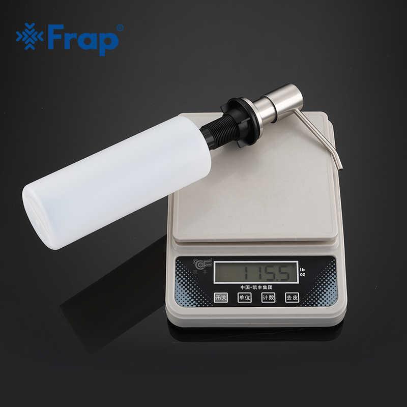Frap нержавеющая сталь 500 мл кухня дезинфицирующее средство для рук раковина жидкое мыло Диспенсер насос держатель хранения бутылка из полиуретана Y35014